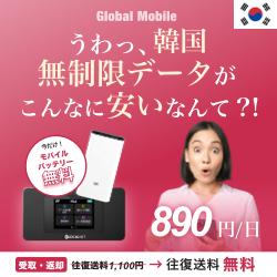 ≪韓国WiFi≫申込