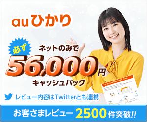 ネットのみでも必ず33000円CB・且つ最短1ヶ月後に還元【auひかりサイト】