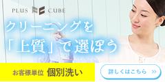宅配クリーニング【プラスキューブ】
